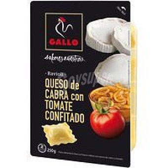 Gallo Ravioli queso de cabra con tomate Bandeja 250 g