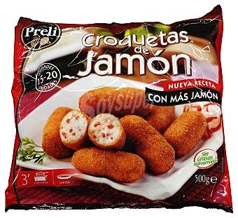 Preli Croquetas congeladas jamón Paquete 500 g
