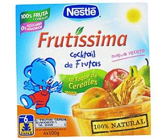 Nestlé Tarrito Cocktail de Frutas y Cereales 4x100g