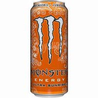 Monster Energy Bebida energética Ultra Sunrise Lata 50 cl