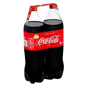 Coca-Cola Refresco de cola Pack de 2 botellas x 2 l