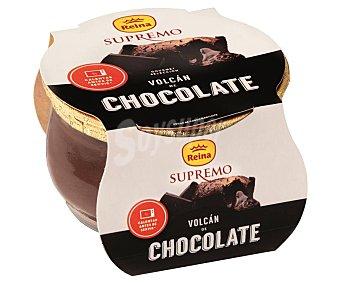Supremo Postre lacteo volcán de chocolate reina 100 g