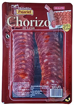 Pajariel Chorizo dulce lonchas Paquete 100 g