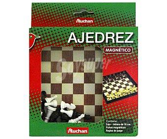 Auchan Ajedrez magnético edición de viaje, 16x16 centímetros 1 unidad