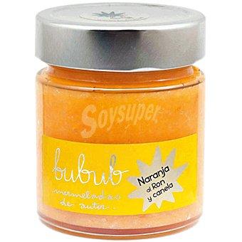 BUBUB Mermelada de naranaja al ron y canela frasco 240 g frasco 240 g