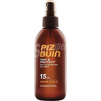 PIZ BUIN Tan & Protect Aceite solar FP-15 Spray 150 ml