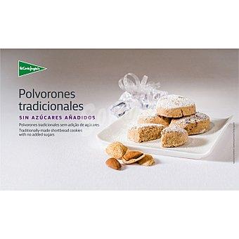 El Corte Inglés Polvorones sin azúcar calidad suprema Estuche 350 g