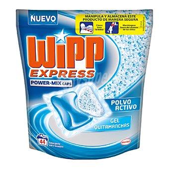 Wipp Express Detergente Power-Mix en cápsulas 44 lavados