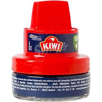 KIWI Limpia calzado crema azul con aplicador  tarro 50 ml