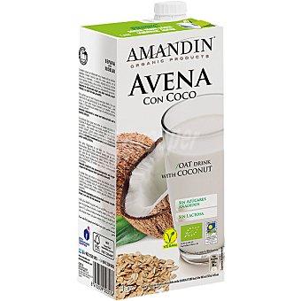 Amandin Bebida Ecológica de Avena con Coco 1 l