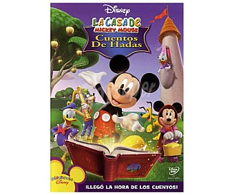Disney Película en Dvd La casa de Mickey Mouse 3: Cuentos de hadas, Disney. Género: infantil, preescolar, animación. Edad: La casa de Mickey 3