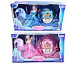 Muñeca Princes Stefania con carroza, color rosa o azul toys  Magic