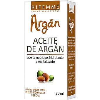 BIFEMME Aceite de Argan nutritivo hidratante y revitalizante Envase 30 ml