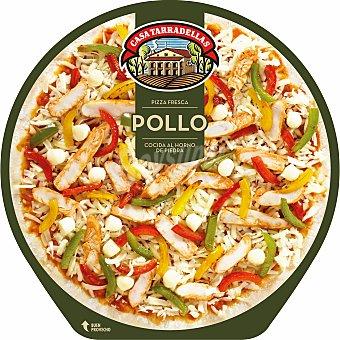 Casa Tarradellas Pizza fresca de pollo cocida al horno de piedra 410 g