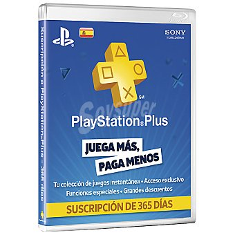 PS3 Subscripción PSN Plus Card 365 Dias para PS3