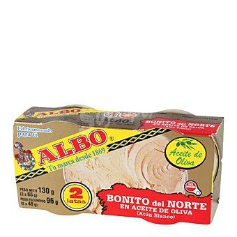 Albo Bonito en aceite de oliva Pack de 2x48 g