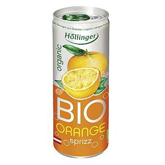 Hollinger Refresco de naranja ecológica Lata 25 cl