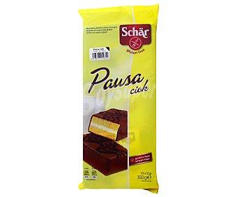 Schär Tartitas de chocolate sin gluten Pausa Ciok 10 unidades (350 g)