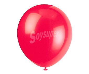 Partygram Globos de 30,5 centímetros de color rojo 15 unidades