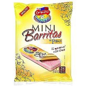 Campofrío Barritas de pavo natural pack 4x30 g