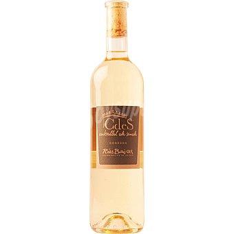 Carballal de sande Cdes Condado vino blanco plurivarietal D.O. Rías Baixas Botella 75 cl