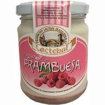 Lactebal Yogur desnatado con frambuesas Tarro 200 g