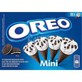 OREO Miniconos de helado Oreo 8 unidades (estuche 224 ml)