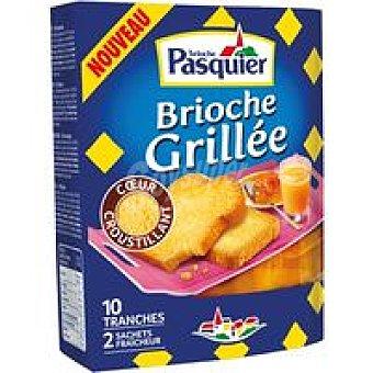 Pasquier Brioche rebanado tostado paquete 180 gr