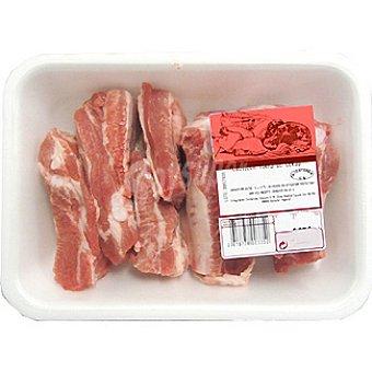 AVINYO costillas frescas de cerdo cortadas en trozos peso aproximado  bandeja 500 g