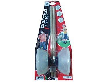 EURASPA Diabolo de iniciación para todas las edades, medida: 19x5 + palos de control, medidas: 12x42 centímetros 1 Unidad