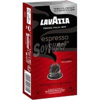 Lavazza Café espresso clásico Caja 10 monodosis
