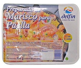 Delfín Preparado de marisco con caldo para paella 500 gramos