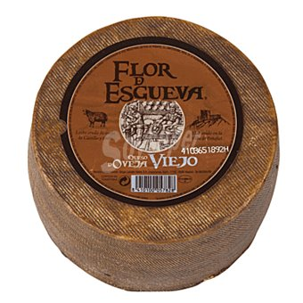 Flor de Esgueva Queso castellano de oveja viejo mini  1 kg (peso aproximado pieza)
