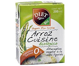 Diet Rádisson Arroz Cuisine biológico sin lactosa 200 ml