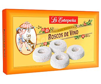 La Estepeña Roscos de vino y almendra Caja 400 g