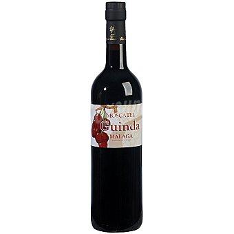 Moscatel guinda Vino dulce moscatel de Alejandría Málaga botella 75 cl