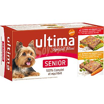 Ultima Affinity Dog Wet senior Pack 4x150 g