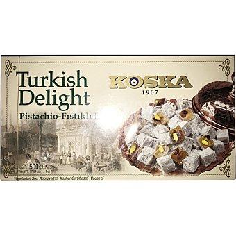 KOSKA Delicias turcas con pistachos estuche 500 g estuche 500 g