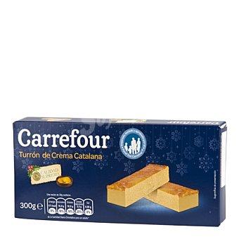 Carrefour Turrón de Crema Catalana 300 g