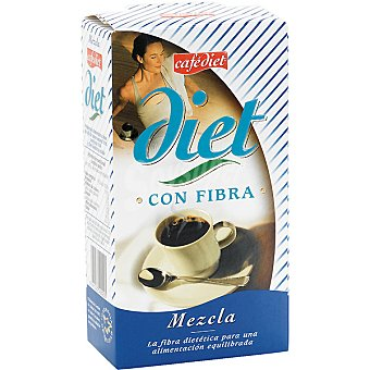 CAFEDIET Café mezcla con fibra Envase 200 g