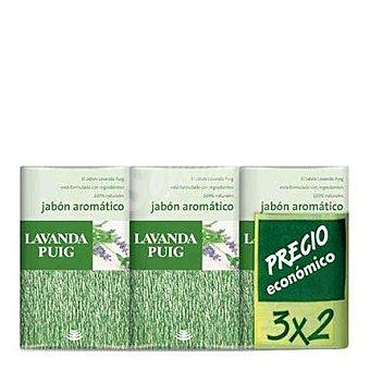 Puig Jabón de manos aromático de lavanda 3 unidades (375 g)