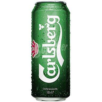 Carlsberg Cerveza rubia danesa lata 50 cl Lata 50 cl