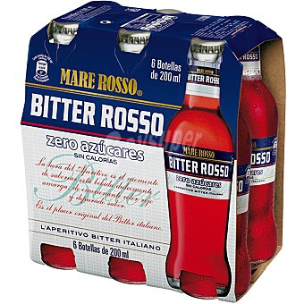 Mare Rosso Bitter Pack 6x20 cl