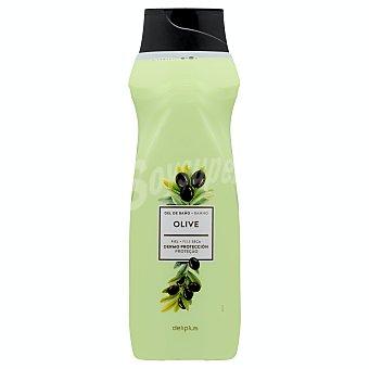 Deliplus Gel baño dermo proteccion piel seca con aceite de oliva Botella 750 ml