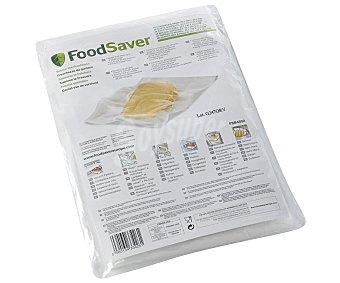 FOODSAVER FSB4802 Pack de 48 bolsas de envasado al vacío, 20.7 x 29.2 cm 48u