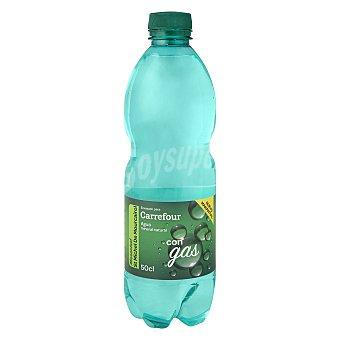 Carrefour Agua mineral con gas 50 cl