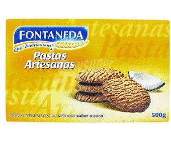 Fontaneda Pastas Artesanas Sabor Coco 500g
