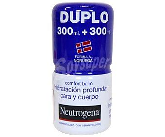 Neutrogena Crema Hidratante Duplo Confort 2 unidades de 300 ml
