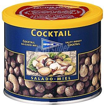 HIPERCOR cóctel salado de frutos secos con miel lata 311 g