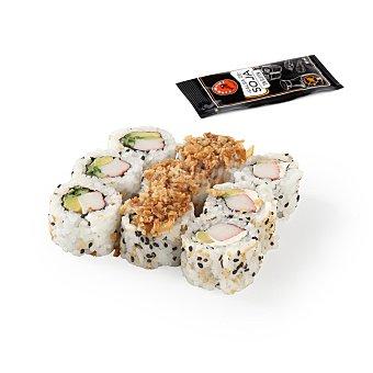 Fish Sushi Uramaki trio -sushi 9 ud